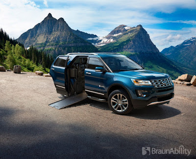 Ford Introduces the BraunAbility MXV, the First Wheelchair-Accessible SUV
