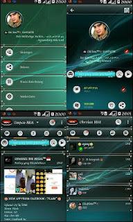 Download BBM Mod Green Style V3.1.0.13 Apk