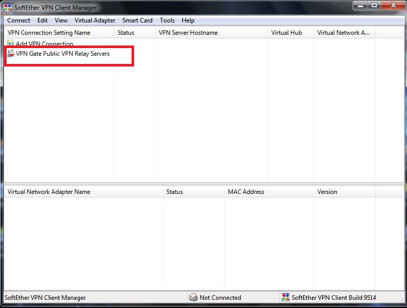 Cara Menggunakan VPN Gate