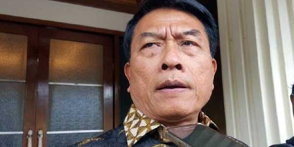 Moeldoko: BPN Prabowo-Sandi Ganggu Pemandangan