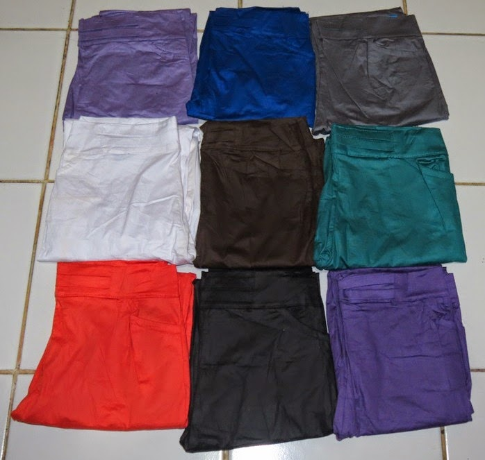 Legging Katun Stretch pilihan warna