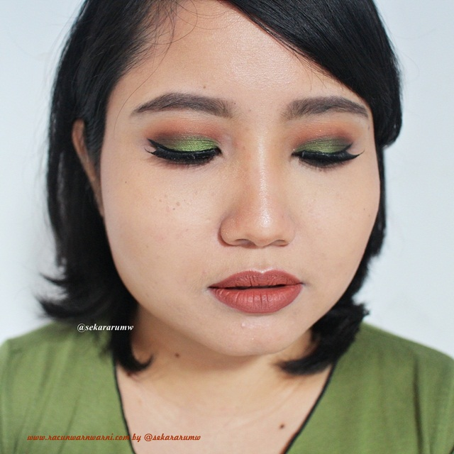 FOTD Green Autumn Make Up