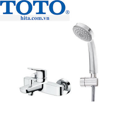 Bộ sen tắm Toto TBG03302V/TBW03002B chính hãng bảo hành 100%