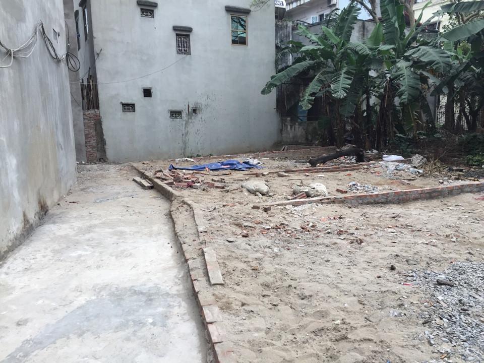 Vị trí các mảnh đất chia lô đẹp tại Cổ Nhuế, Bắc Từ Liêm