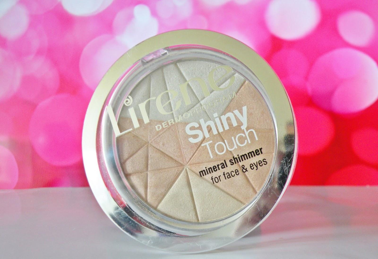 lirene mineralny rozświetlacz do twarzy i oczu.