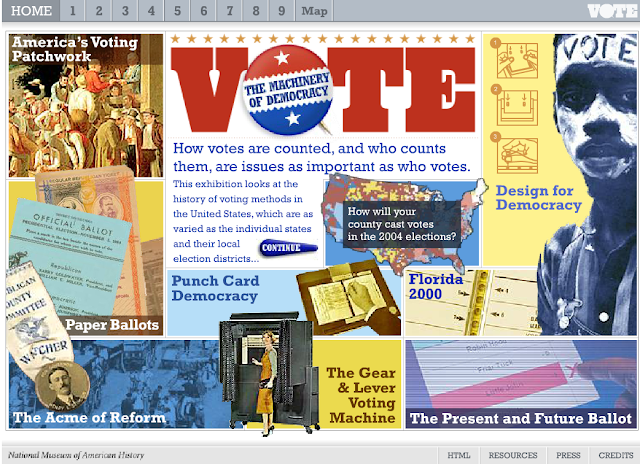 American History Vote Is A Site Full Of Information Interactives And More