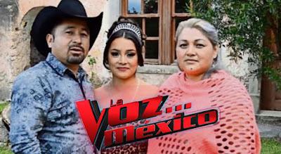 La quinceañera Rubí audiciona en La Voz México