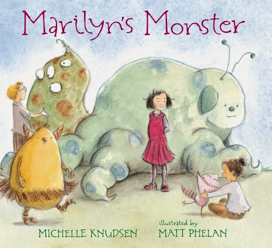 Michelle Knudsen: LAST CHANCE TO PRE-ORDER MARILYN'S MONSTER!