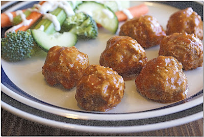 Buffalo Chicken Mini-Meatballs