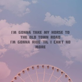 Pictures Quotes Lil Nas X - Old Town Road