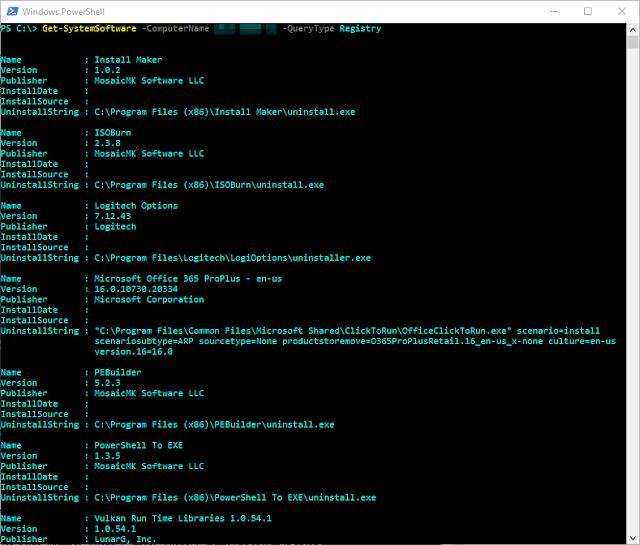 Get System Info Module