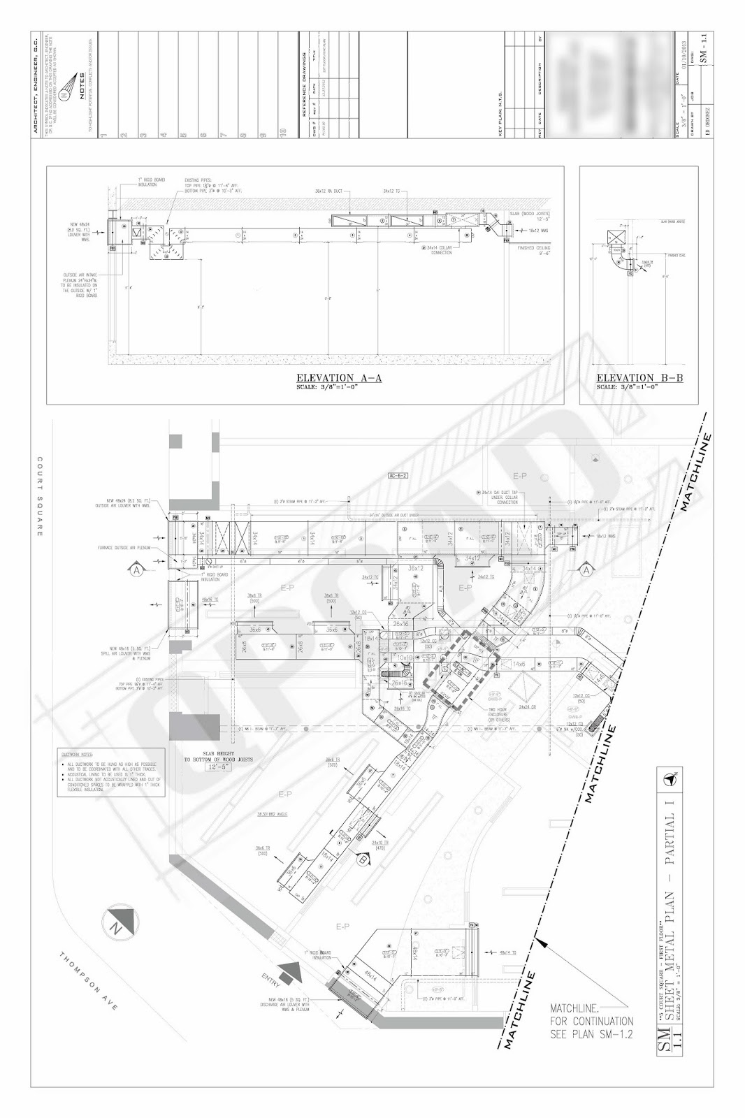 samples quickpro cadhvac shop drawing comments 7 [ 1066 x 1600 Pixel ]