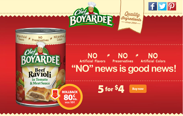 Feed your family a delicious meal without breaking the bank with Chef Boyardee! #SaveonChef