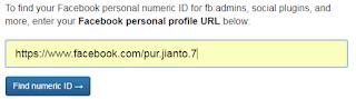 Cara melihat ID Twitter dan Facebook