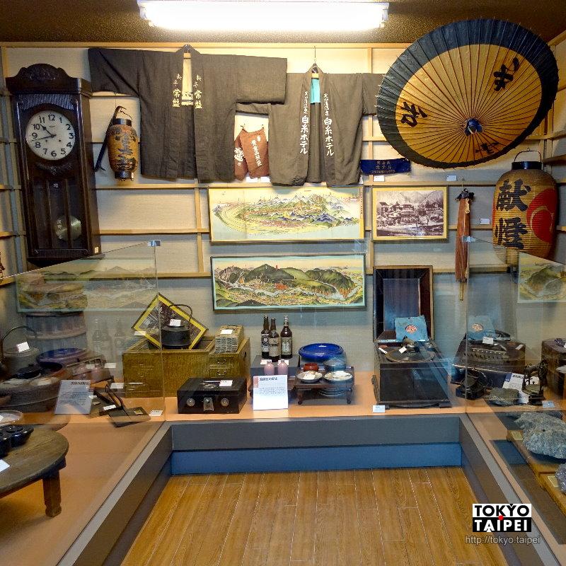 【定山溪溫泉博物館】觀光案內所內的小博物館 體會百年前的鐵道風情