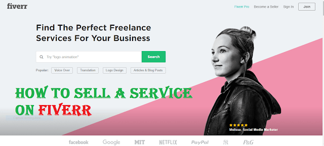 How to Sell a Service on Fiverr