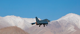 Indian Light Combat Aircraft, LCA Tejas. Winter Trials at Leh 2012