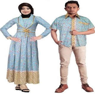 Batik Couple Muslim Pesta