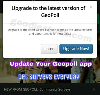 Download Latest Geopoll Version 133 And Get Free Airtime Credit