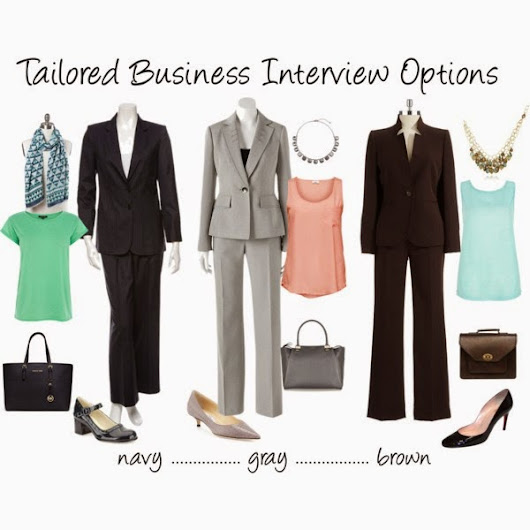 What Kind of Womens Job Clothes Should I Wear to a Job Interview?