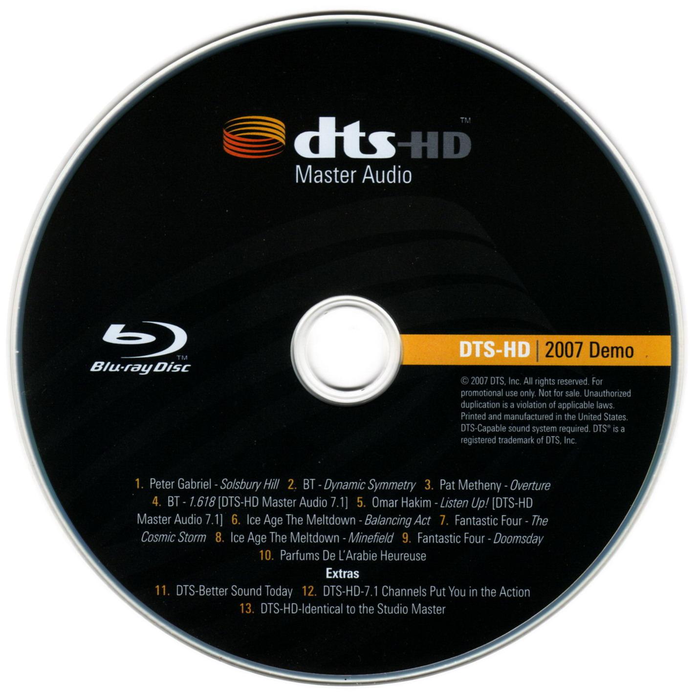 5 1 Hd dts demo