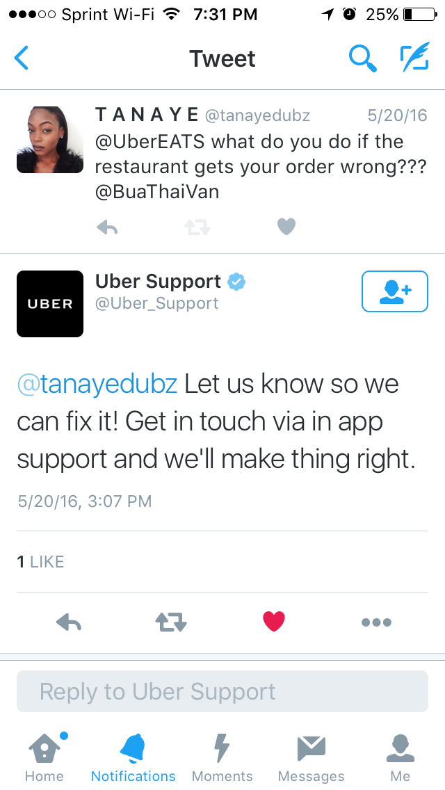 UberEATS: PROS AND CONS - The Official Blog of Tanaye White