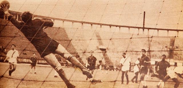 Perú y Chile en Campeonato Sudamericano de 1949