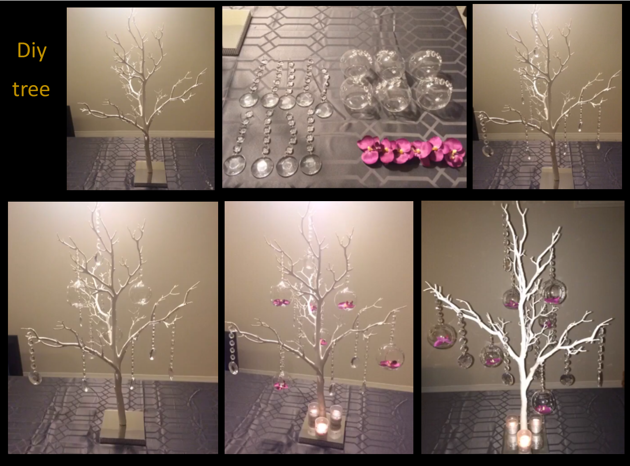 101 fiestas ideas para hacer un centro de mesa con ramas - Ramas de arbol para decoracion ...