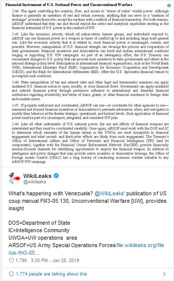 https://twitter.com/wikileaks/status/1089985249034027009?ref_src=twsrc%5Etfw%7Ctwcamp%5Etweetembed%7Ctwterm%5E1089985249034027009&ref_url=https%3A%2F%2Fgrayzoneproject.com%2F2019%2F01%2F30%2Fus-economic-warfare-venezuela%2F