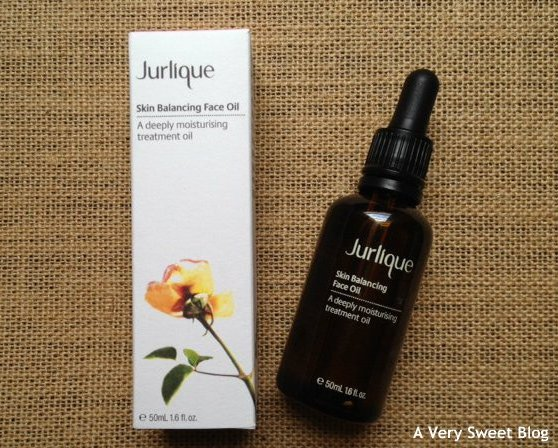 Jurlique Skin Balancing Face Oil Product Review | A Very