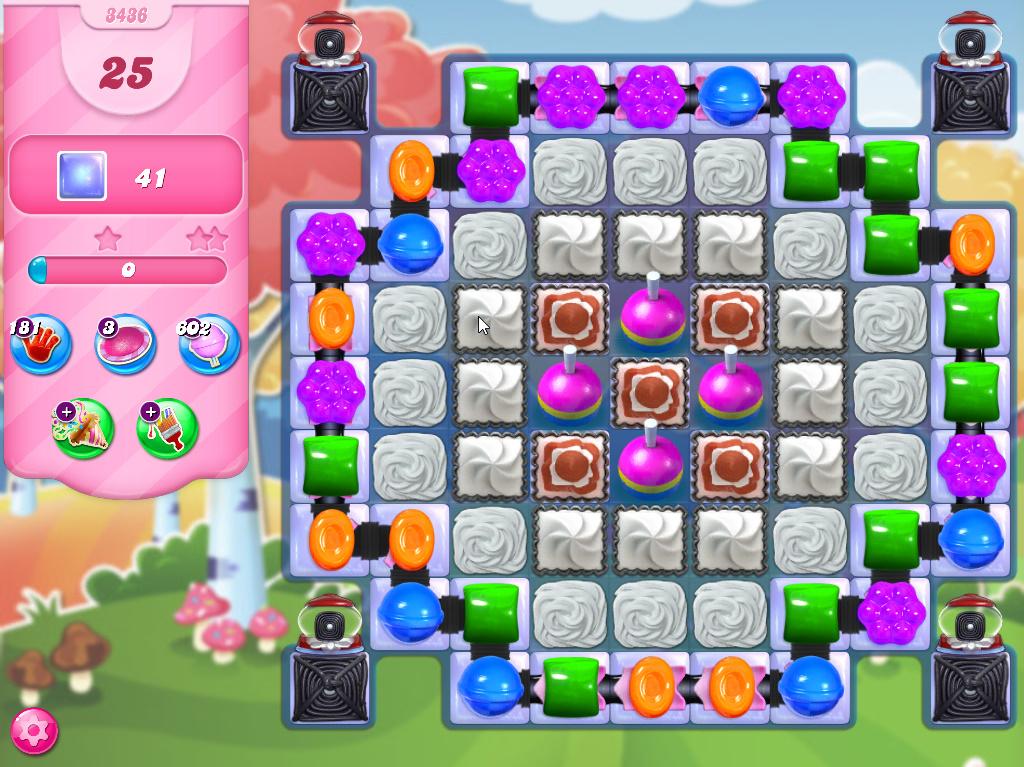 Candy Crush Saga level 3436