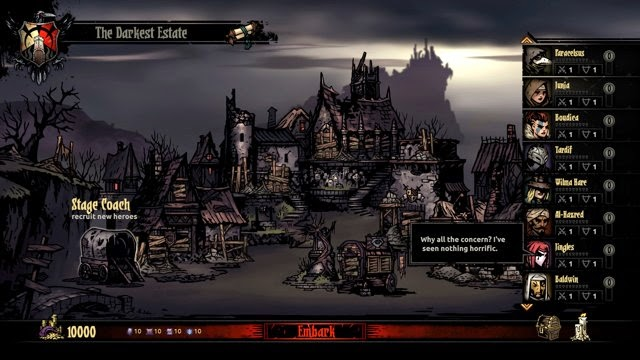 Darkest Dungeon: The Crimson Court PC Full Español