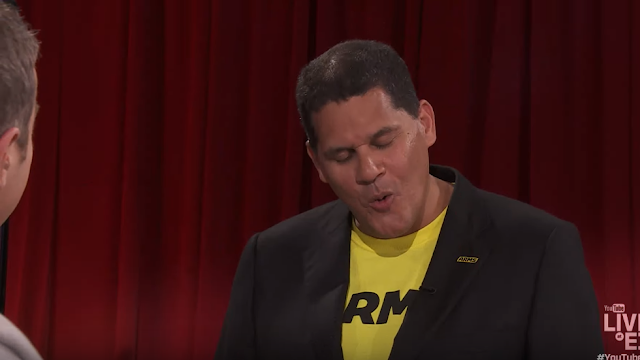Don't be a John Reggie Fils-Aime Geoff Keighley salty