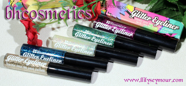 Glitter Eyeliners from #bhcosmetics