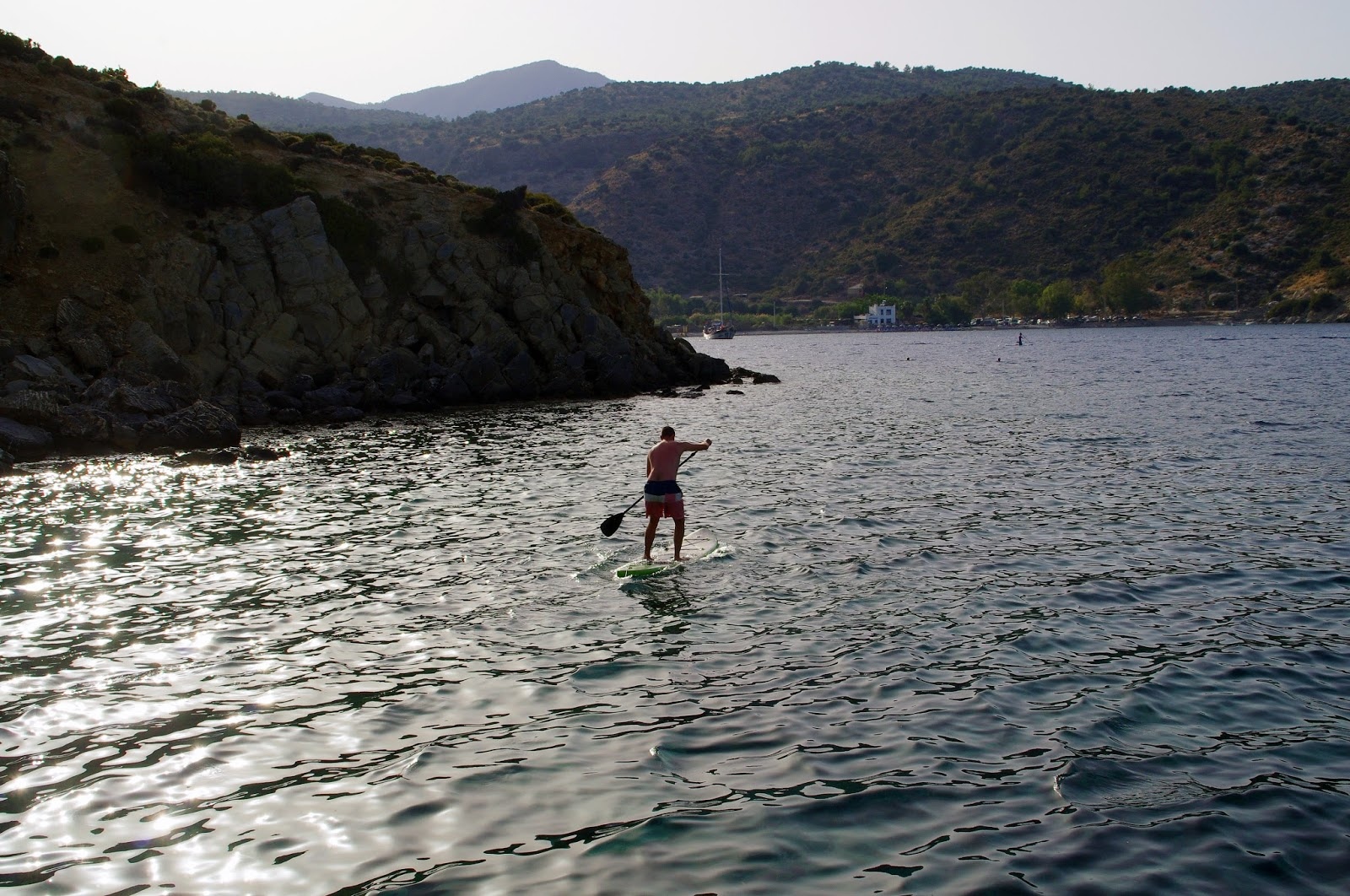 Stand up Paddleboarding in Turkey