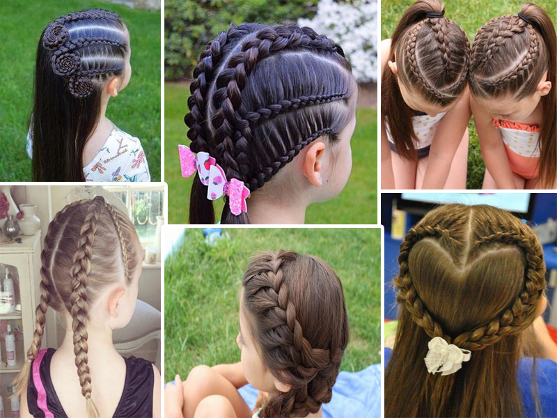 10 Hermosas Trenzas Para Niñas Paso A Paso Peinados Para Niñas