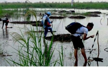 Tim Investigasi Turun ke Lokasi Eks Pelabuhan Sriwijaya di Teluk Cengal