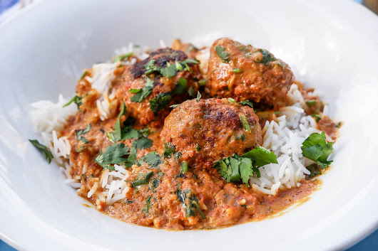 Instant Pot Butter Chicken Meatballs