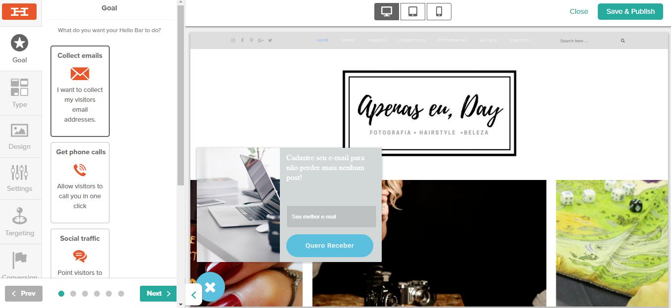 Conheça 4 ferramentas incríveis que irão ajudar a captar leitores para seu blog, todos são responsivos e super fáceis de instalar. Acesse agora!