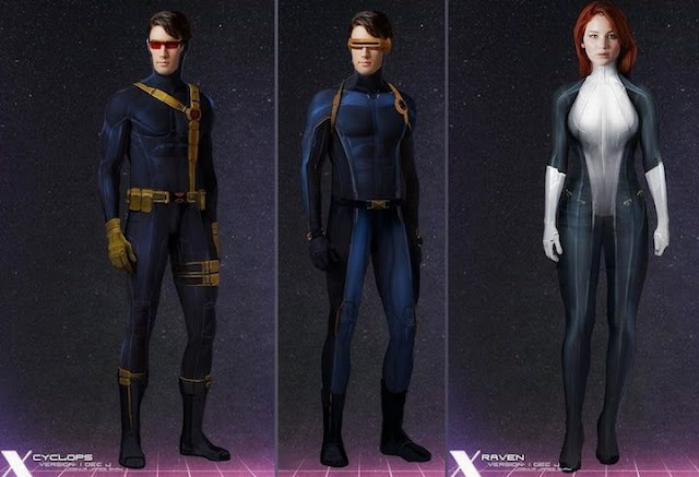 Cyclops y Mystique de X-Men: Apocalypse