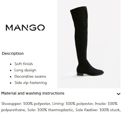 7e46c55e814f Best affordable over the knee boots (Mango