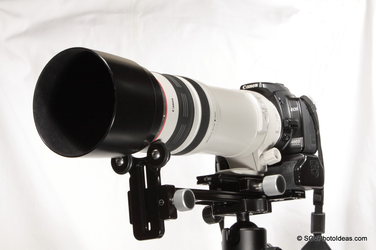Versatile Long Lens Support Bracket - front overview