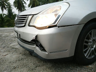 Kos Repair Bamper kereta Nissan Sylphy