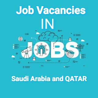 Jobs in Saudi Arabia and qatar