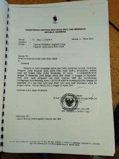 legalitas koperasi rizky abadi. Gerai Jatinangor. Putusan Kementrian Koperasi dan Usaha Kecil dan Menengah Republik Indonesia