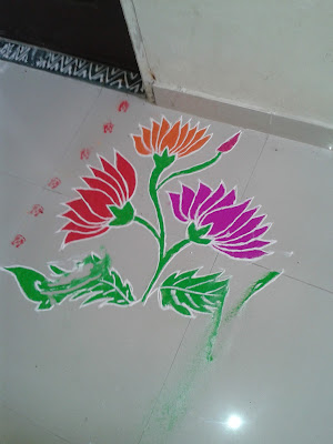Daily small rangolis