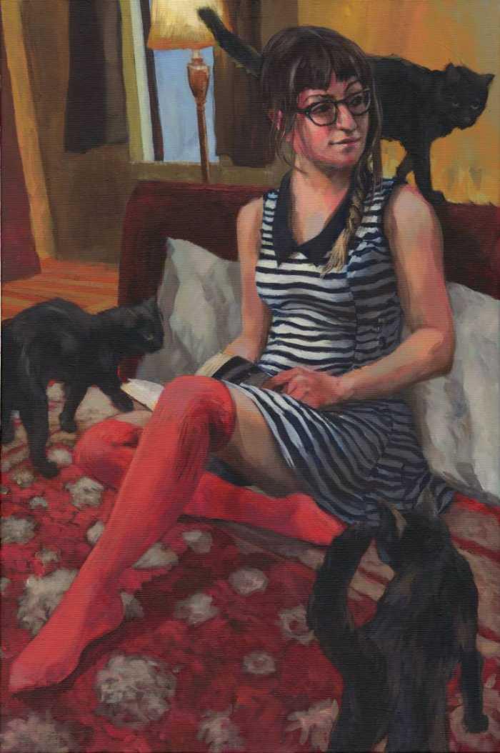 Американский художник. Matt Cauley