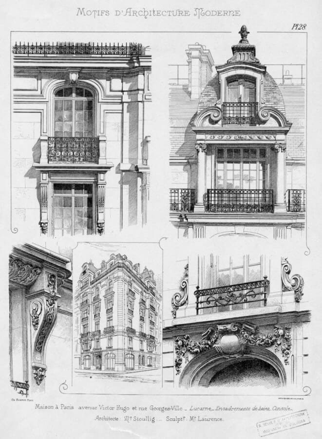 08-Noe-L-1920s-Hand-Drawn-Architectural-Drawings-www-designstack-co