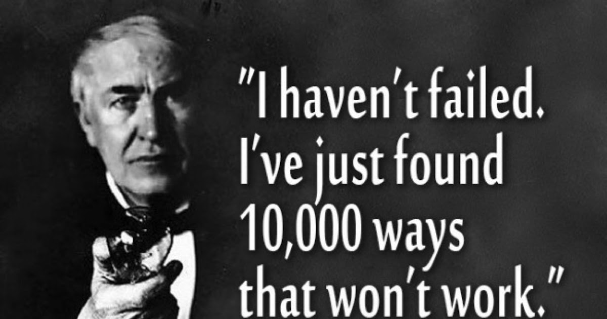TCH Electronic Components Blog 60 Thomas Edison Quotes Extraordinary Thomas Edison Quotes