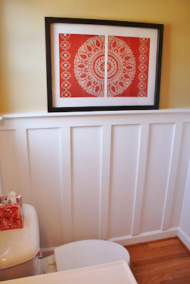Add Board and Batten to Beautify a Bathroom  Sand and Sisal